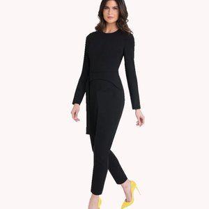 BLACK HALO NEW Long Sleeve Emma Jumpsuit